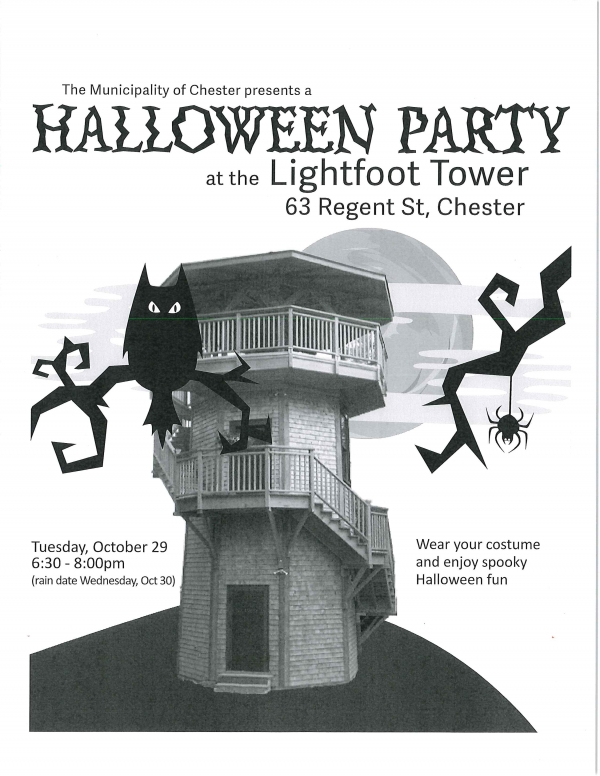 image of halloween party poster