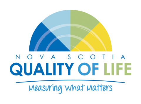 Logo that says Nova Scotia - Quality of Life - measuring what matters